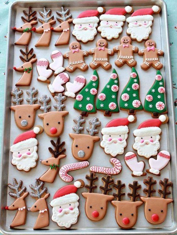 Holiday Sugar Shapes