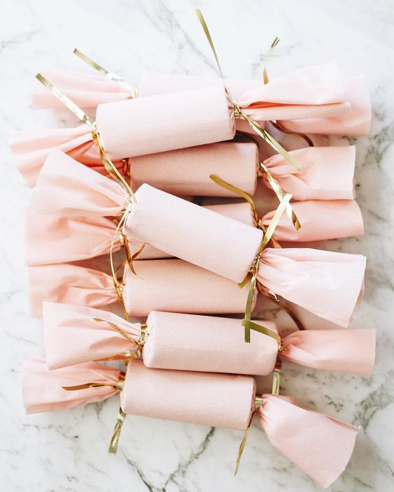 Pink DIY Poppers