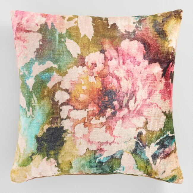 Floral Pillow $27
