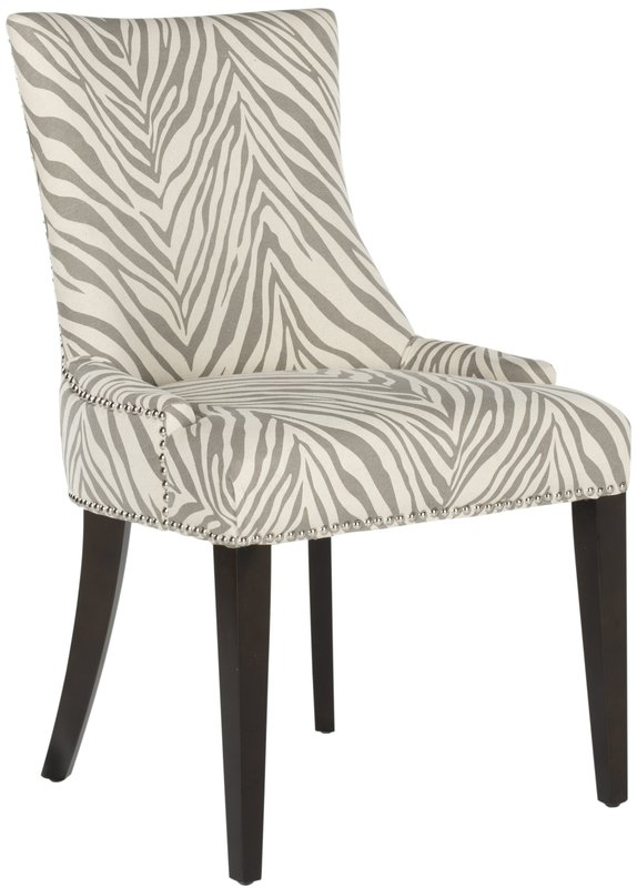 Faux Zebra chair