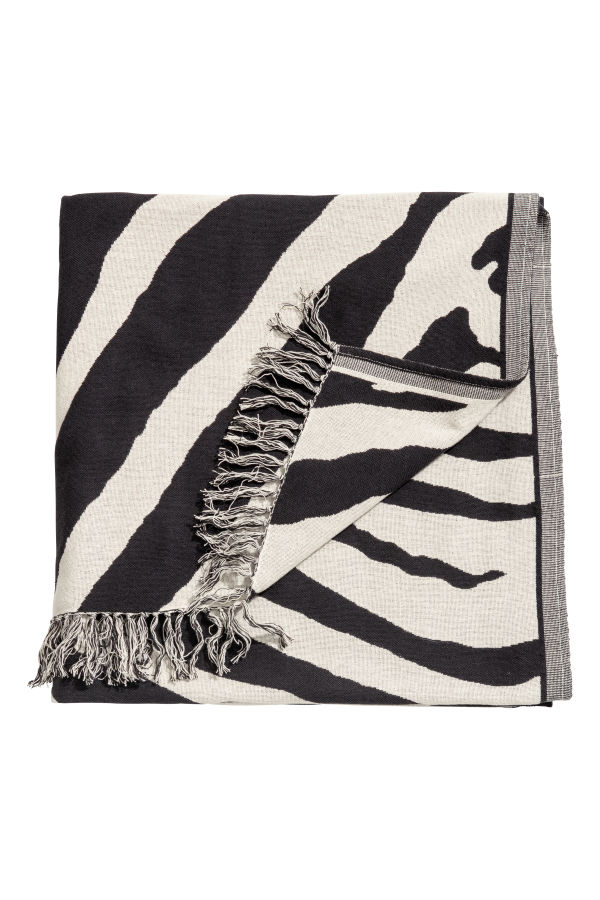 Zebra Throw