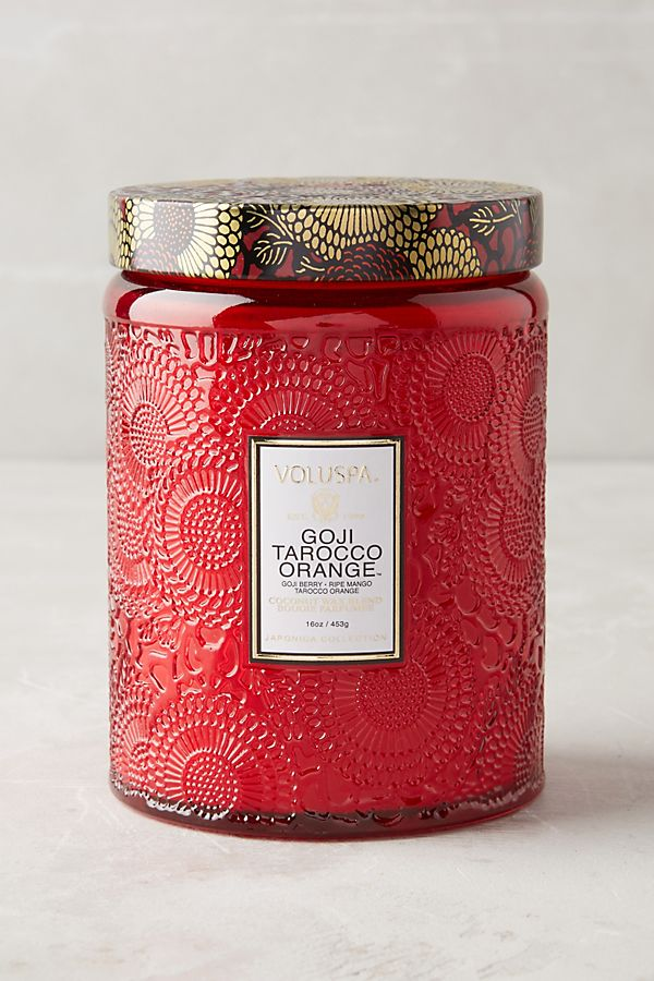 Goji Orange Candle