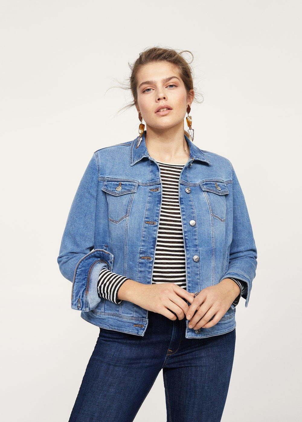 Plus Jean Jacket