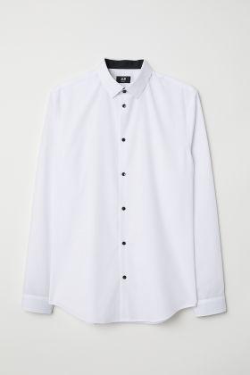 White Button Shirt $19