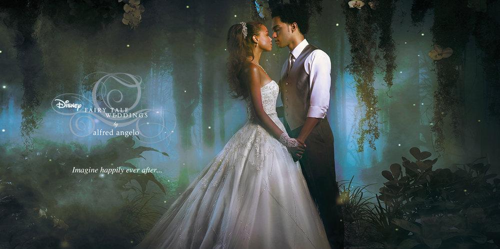 Disney Fairy Tale Weddings by Alfred Angelo — Philip Bonneau