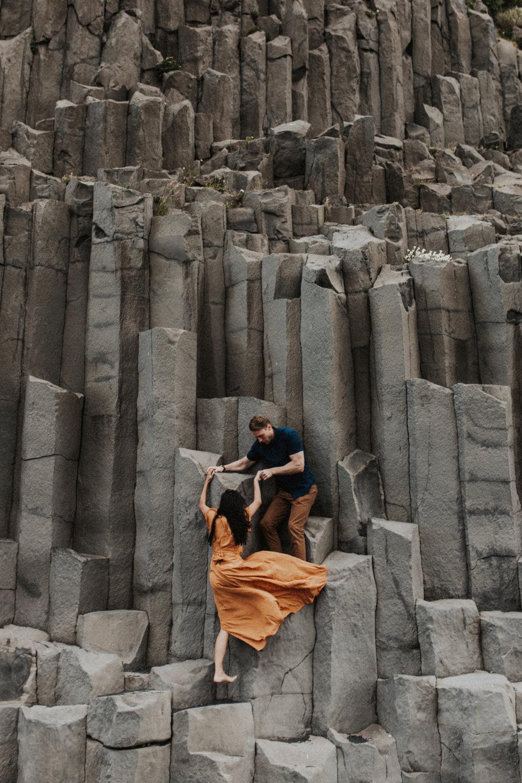 Climbing walls at Vik in Iceland.jpg