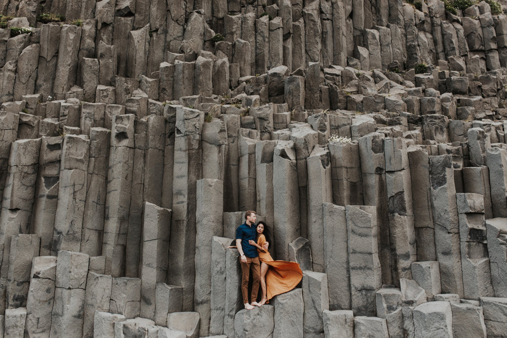 destination wedding photographer in iceland photographing couple at vik.jpg