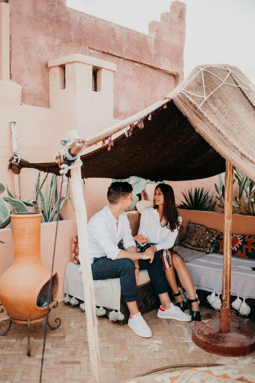 beautiful couple in marrakech riad.jpg