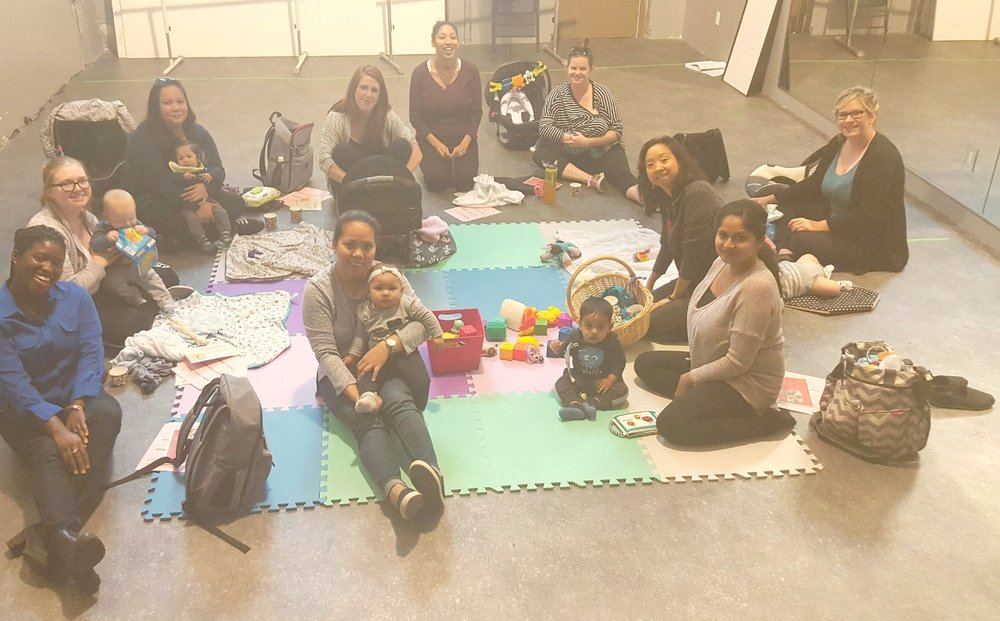 Mommy Connections Scarborough Chapter - Oct. 2017 - Sharon and Alannah had a fantastic time speaking with new mommies and babies! They shared ways that moms can make time for healthier meals, improve the healing process, battle postpartum effects including the 'Mommy brain fog'! A big thank you goes out to Rhea, the Mommy Connections Scarborough Chapter's organizer. Check out this mommy support group here