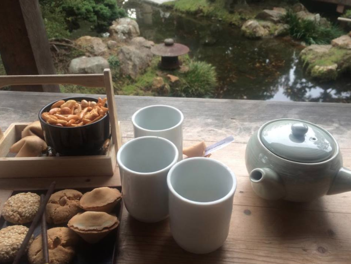 Tea Time at the Japanese Tea Garden- San Fransisco
