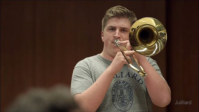 Meet the Band: Jacob Melsha is one of the country's most versatile and innovative young jazz trombonists.  A native of St. Louis, Missouri, he grew up in a musical family.  Throughout high school, Jacob played all over the country; at the 2017 Grammy Awards in Los Angeles, with the Jazz Band of America in Indianapolis, and at Jazz at Lincoln Center's Summer Jazz Academy in New York.  He enjoyed playing in the St. Louis Symphony Youth Orchestra and in Jazz St. Louis' All-Stars on a regular basis, as well as teaching private lessons to area students.  Currently studying at The Juilliard School in New York City, Jacob studies with members of Jazz at Lincoln Center and the New York Philharmonic, and has toured Brazil with Juilliard ensembles.  The Jacob Melsha Quintet made its debut in New York in 2018.  Jacob looks forward to finishing the rest of his education at Juilliard, and continuing integrating into New York's jazz scene.  You can catch Jacob playing trombone with us on Thursday, May 24 @blueberryhillduckroom. Link in bio.  #music #originalmusic #trombone #stlouis #stl #event #concert #lelandsroad #blueberryhill #duckroom #farfromgiants #newyork #grammy #band #jazz #lincolncenter #may