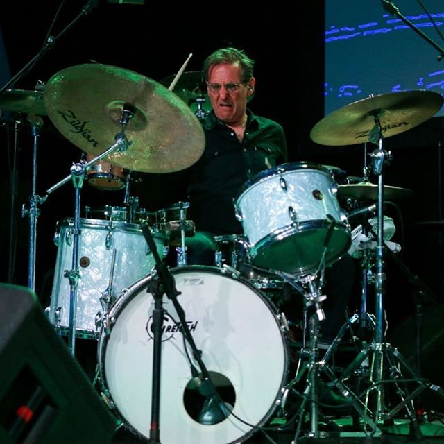 """Russ Lawton grew up in the Boston area where he began drumming professionally and studying with Gene Roma. Early in his career, Russ toured with the Afro-fusion band Zzebra, formed by Osibisa's Nigerian-born percussionist Lofty Amao. He currently tours and records with a variety of musicians including Phish's Trey Anastasio. Collaborating with Trey includes co-writing songs from Phish's """"Farmhouse"""" CD (featuring the Grammy-nominated song First Tube), Trey's first solo CD, the live """"Plasma"""" CD, and """"Live at the Warfield Theatre"""" DVD with Trey and Carlos Santana, as well as his three latest releases """"The Horseshoe Curve"""", """"Tab At The Tab Live"""" in Atlanta, and """"Traveler."""" Russ's television appearances are PBS's Austin City Limits with Trey Anastasio, Late Night with David Letterman, The Jimmy Fallon Show, The Tonight Show with Jay Leno, The Conan O'Brien Show and The Carson Daly Show.  Russ also tours with his fellow TAB band-member, Ray Paczkowski; the Vermont Funk duo, Soule Monde. When not with Trey or Soule Monde, Russ plays with a variety of other musicians which repertoire includes blues, funk, country and rock. In between gigs, Russ keeps busy with his drum students and various studio dates. Other notable work includes the music for the independent movies """"Mud Season"""", Mike Gordon's """"Outside Out"""" and """"Left Hand Path."""" You can catch @russlawton playing drums with us tonight @blueberryhillduckroom!  #music #musician #drum #drums #percussion #rhythm #event #stlouis #support #local #live #concert #stl"""