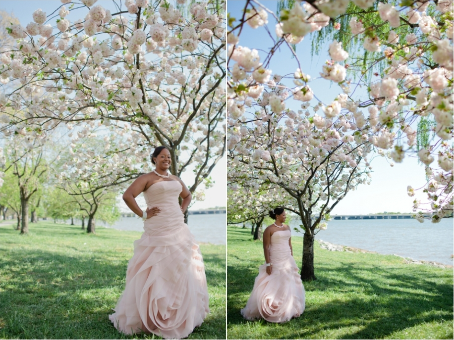 Cherry Blossom Bride