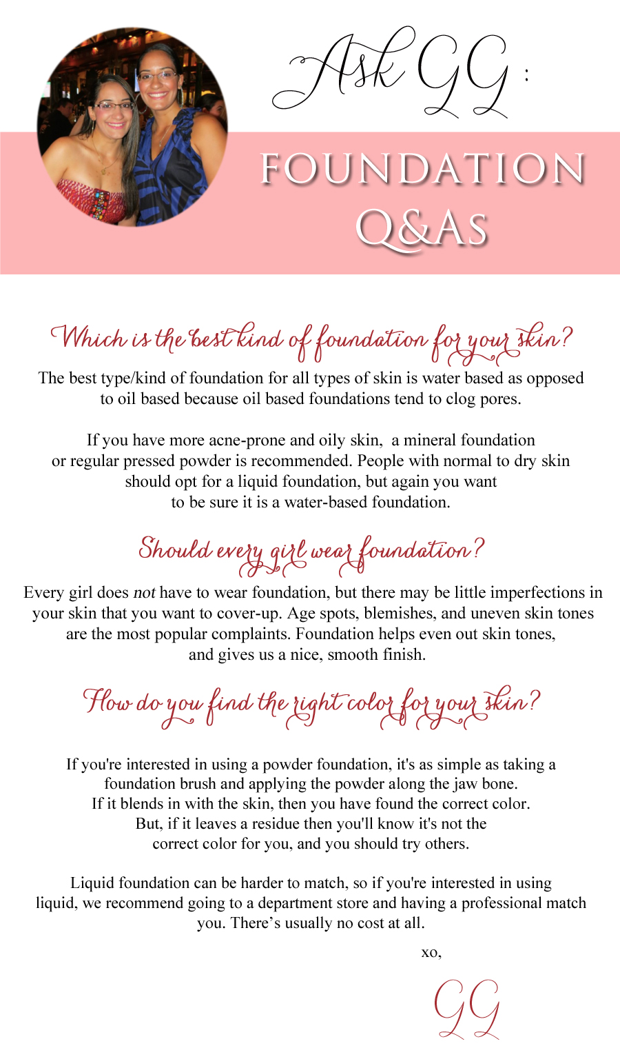 Foundation-Q&A