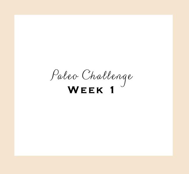 Paleo-Week-1