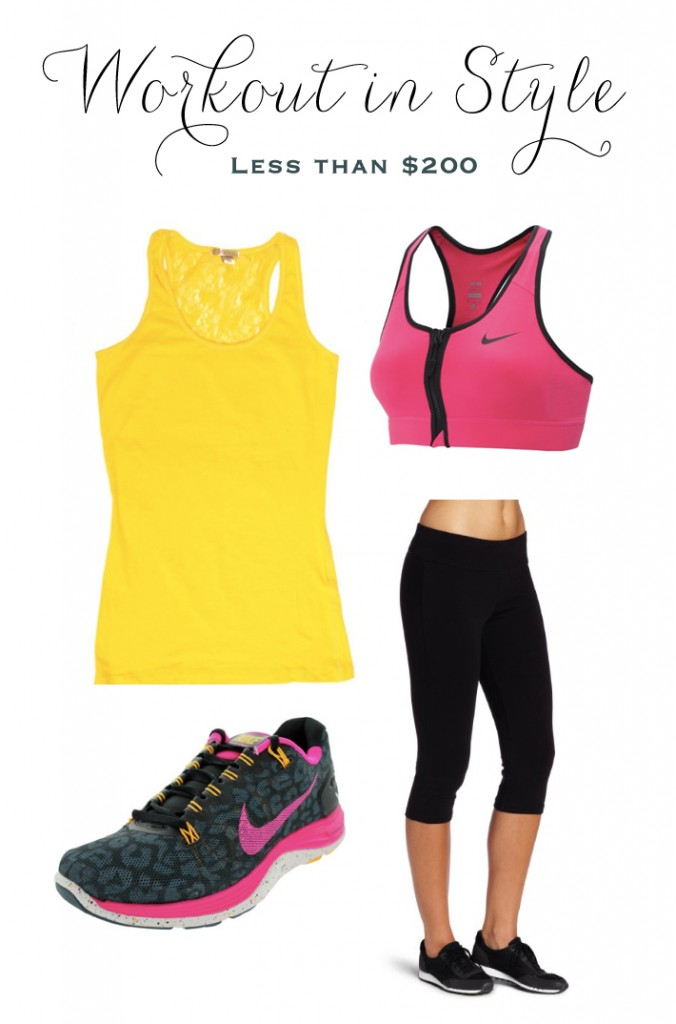 Pink-and-Yellow-Workout-Clothes