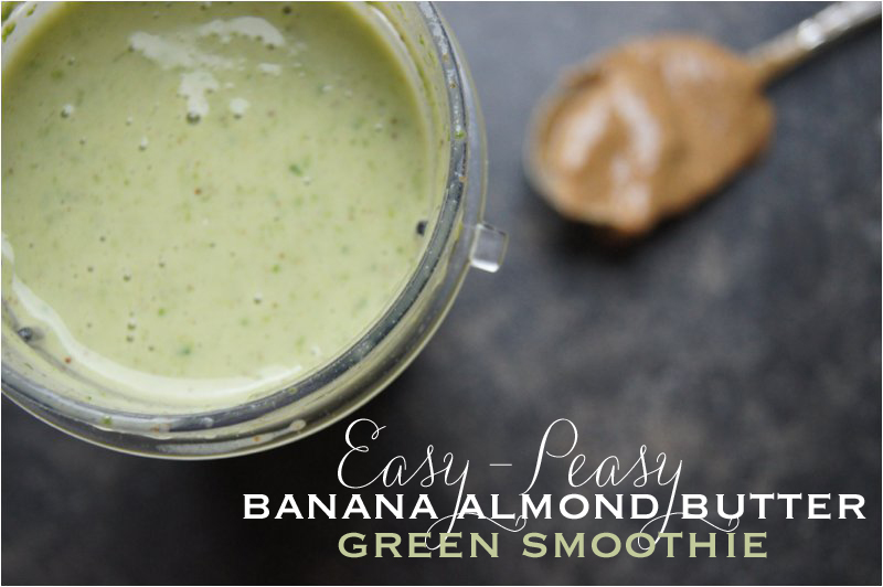 Banana-Almond-Butter-Smoothie
