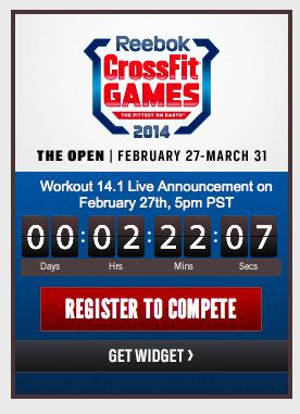 CrossFit Open Countdown