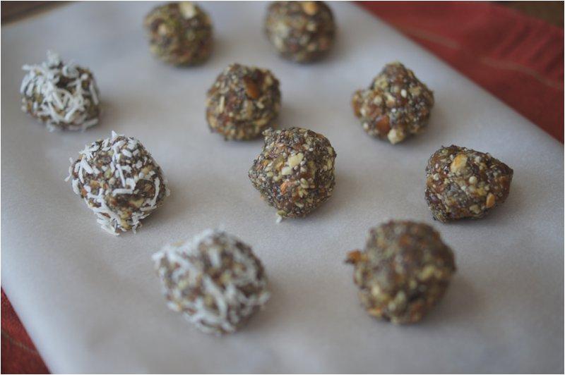 Coconut Lemon Chia Truffles