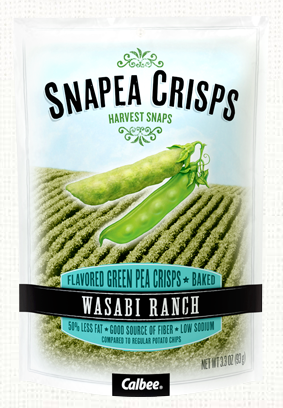 Snap Pea Crisps