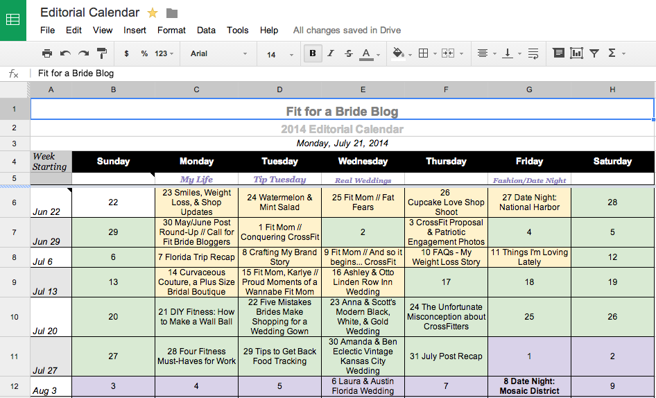 Google Drive for Blogging