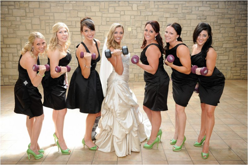 Fitness Theme Wedding