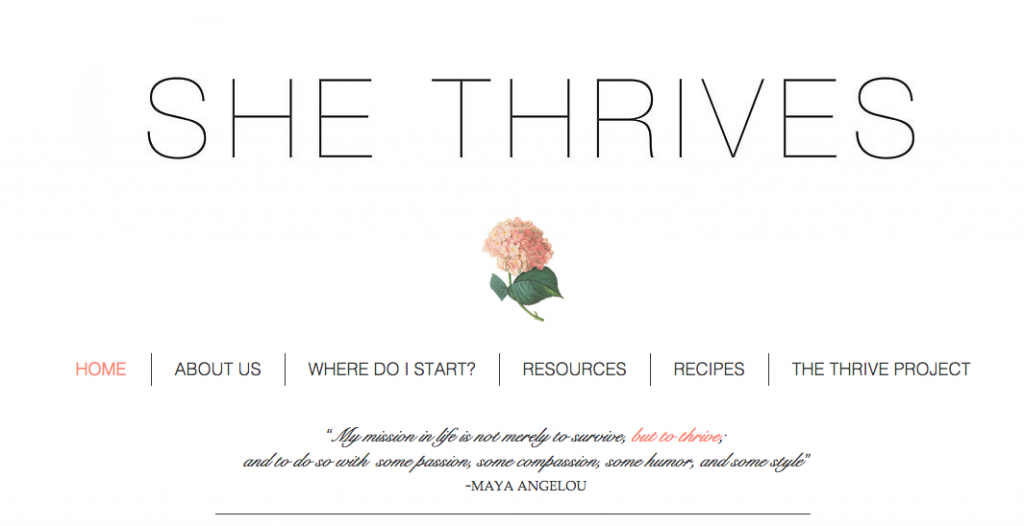 She Thrives Blog
