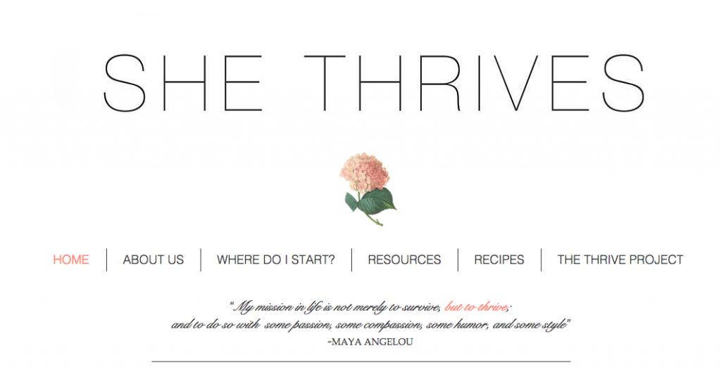 She Thrives Blog