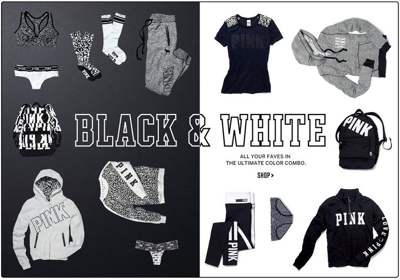 Victoria Secret Black & White Collection