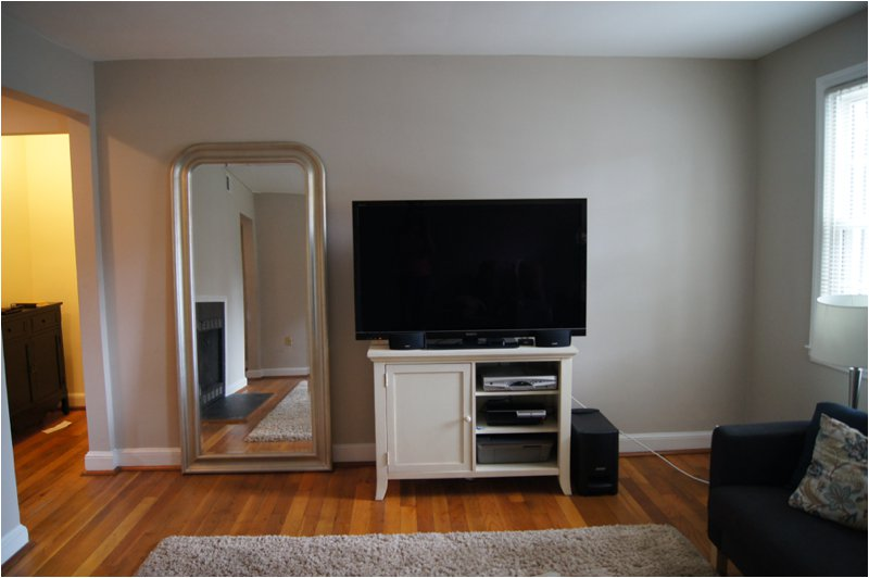 Condo with grey walls