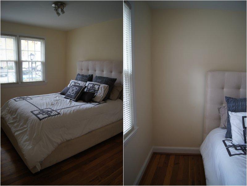 Condo with grey walls