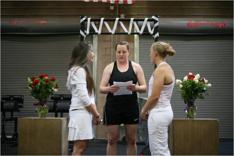 Big Barn CrossFIt Wedding and Workout