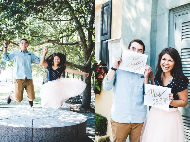 Charleston Engagement Shoot