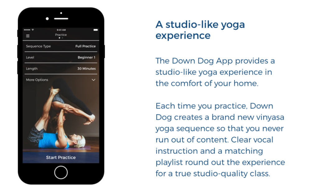 Down Dog Yoga App