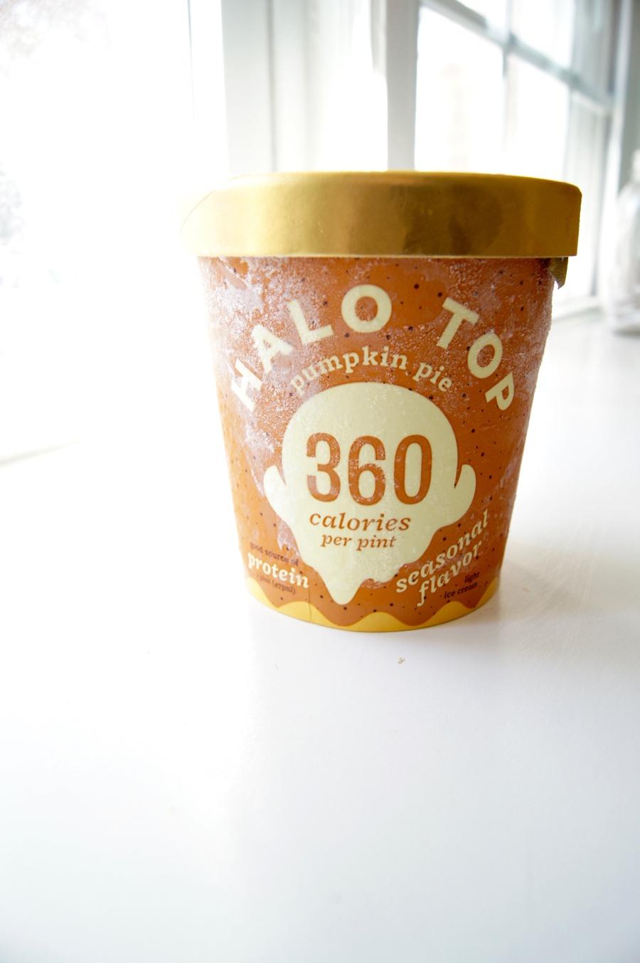 Halo Top Pumpkin Spice Ice Cream