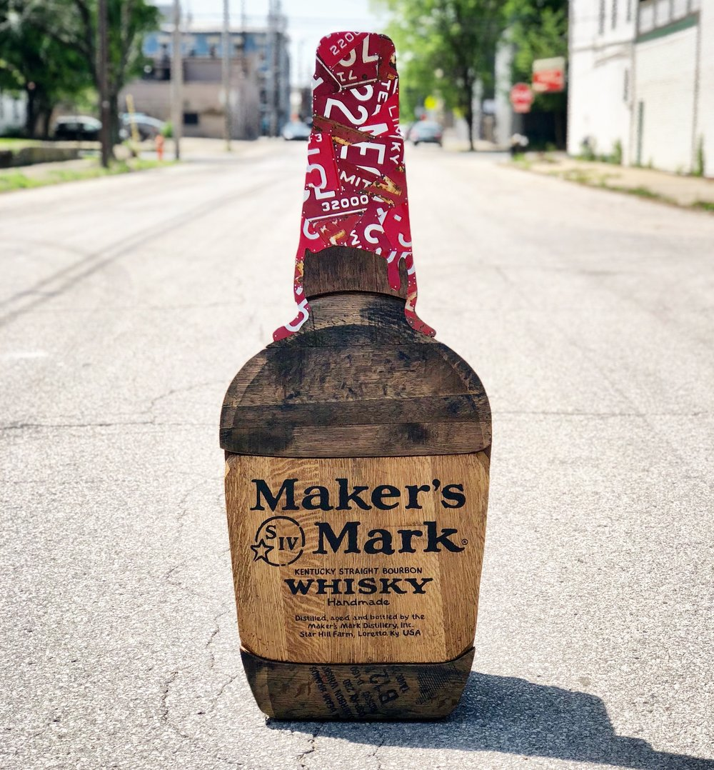 MAKER'S MARK BOURBON BARREL BOTTLE -