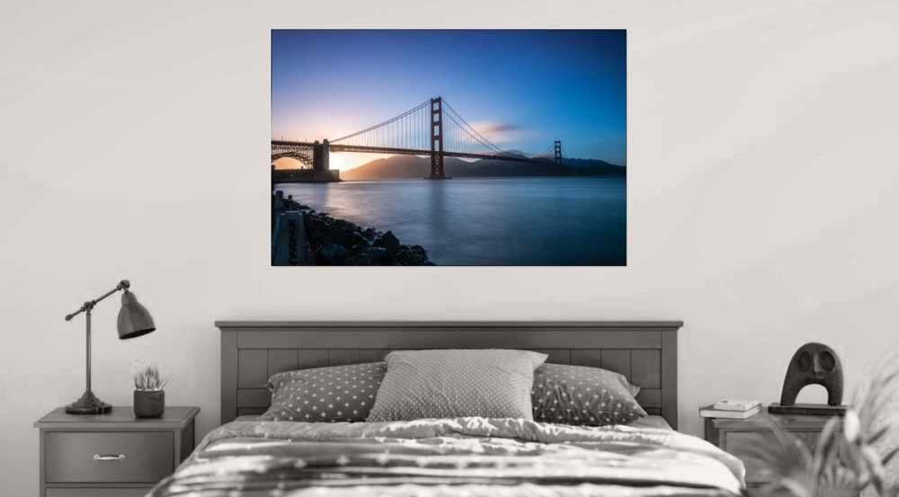 Fine Art Canvas Wrap (Bay)..