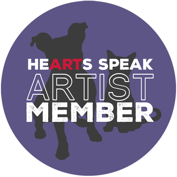 I'm proud to be a member of HeARTs Speak, an organization that unites artists to increase the visibility of shelter animals. HeARTs Speak generously donated their shelter photography field guide to the attendees of the conference.