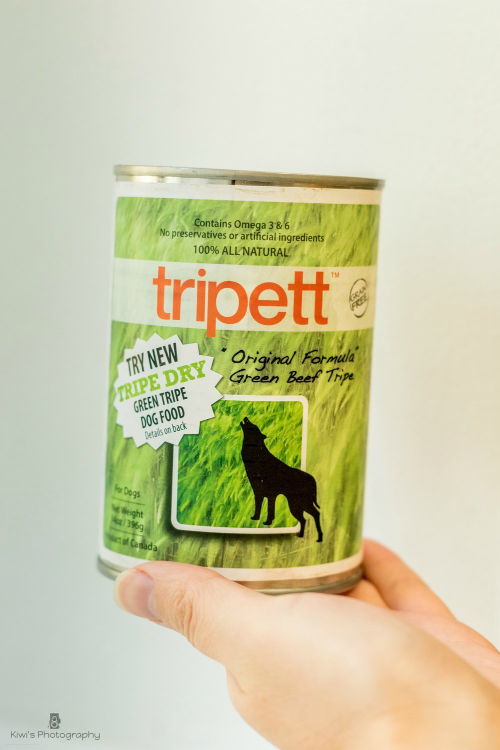 Tripett Canned Green Beef Tripe