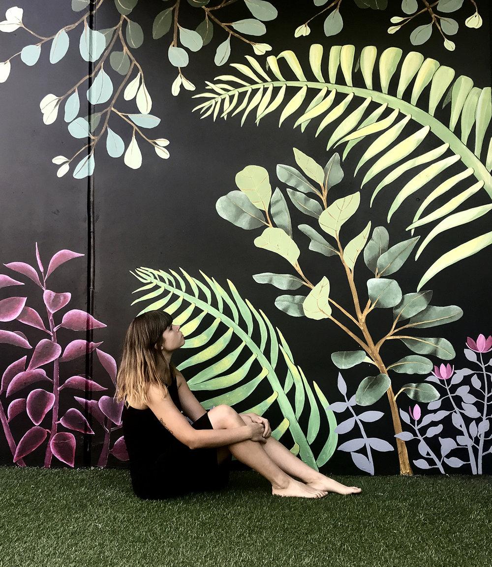 Melanie Mural 2018