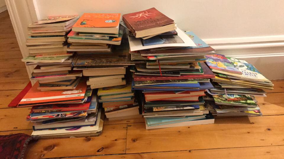 How many  books can a child have ?
