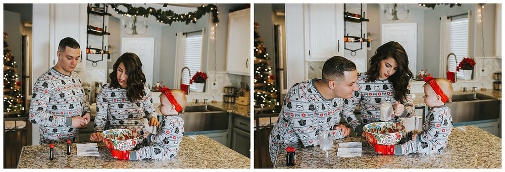 lifestyle christmas photoshoot
