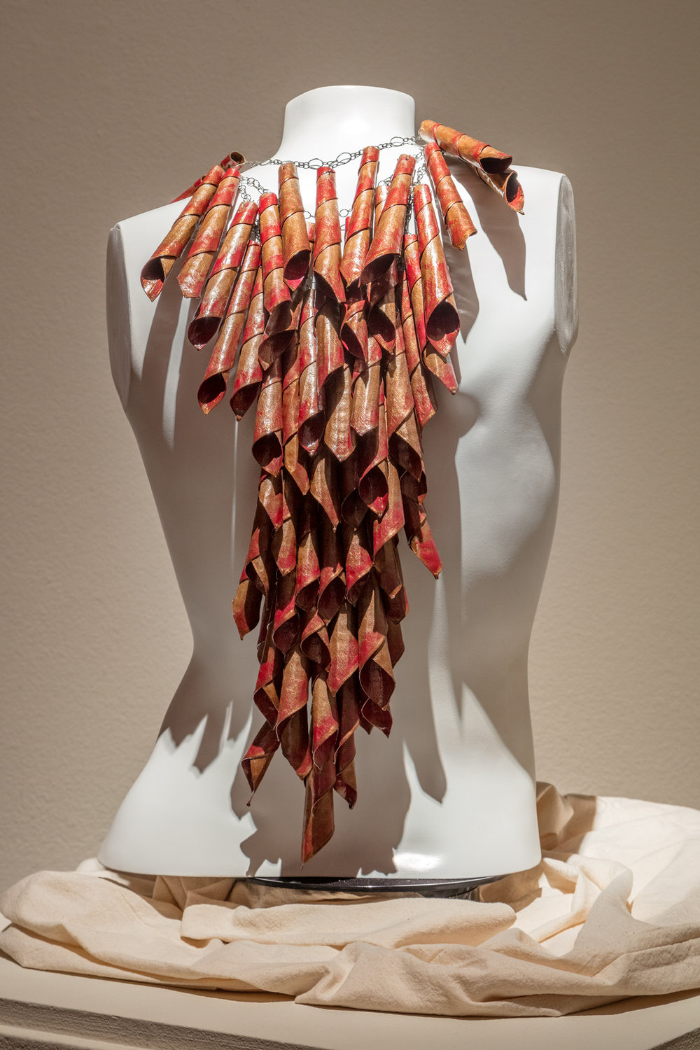 "Display at the Fresno Art Museum for ""Head to Toe"""