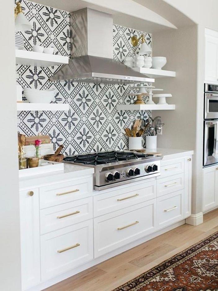 Decorative tiles (  Cement Tiles Shop ) with beautiful appliances
