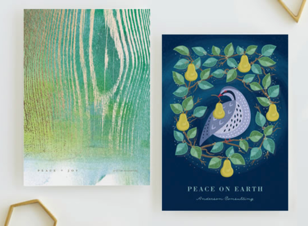 Give Joy  by making a holiday card at Minted to benefit Unicef!
