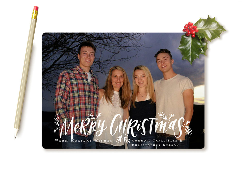 We love our new holiday card from  Minted !