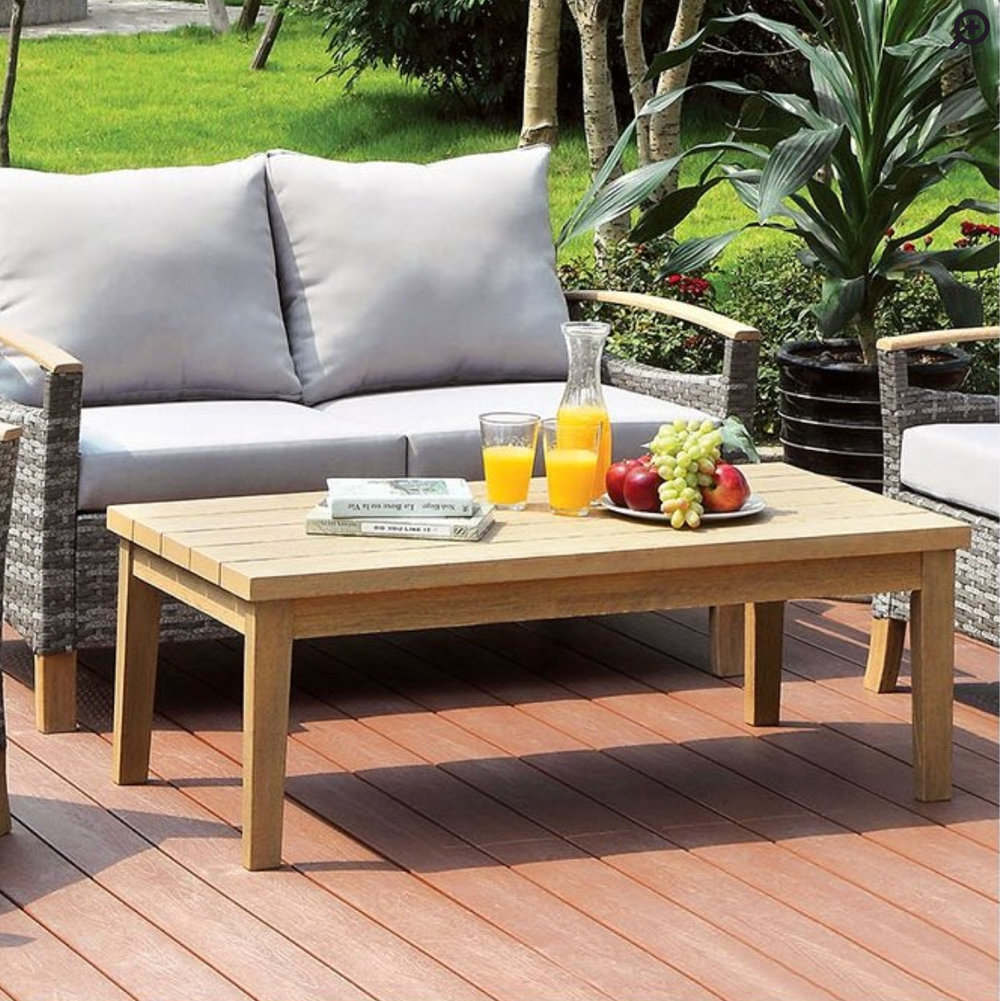 Piute Patio Coffee Table - by Bungalow Rose at Wayfair