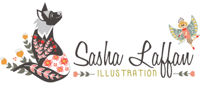 Sasha Laffan Illustration