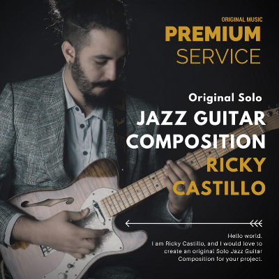 solo jazz guitar composition online