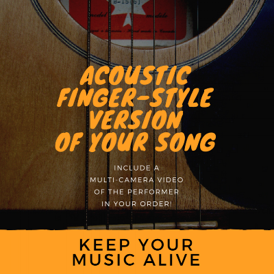 finger style cover guitar